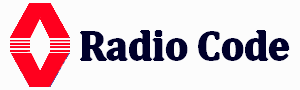 Ranault radio code